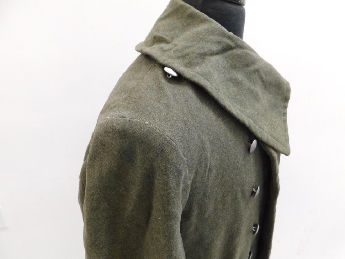WWII German Army M40 Overcoat - 5