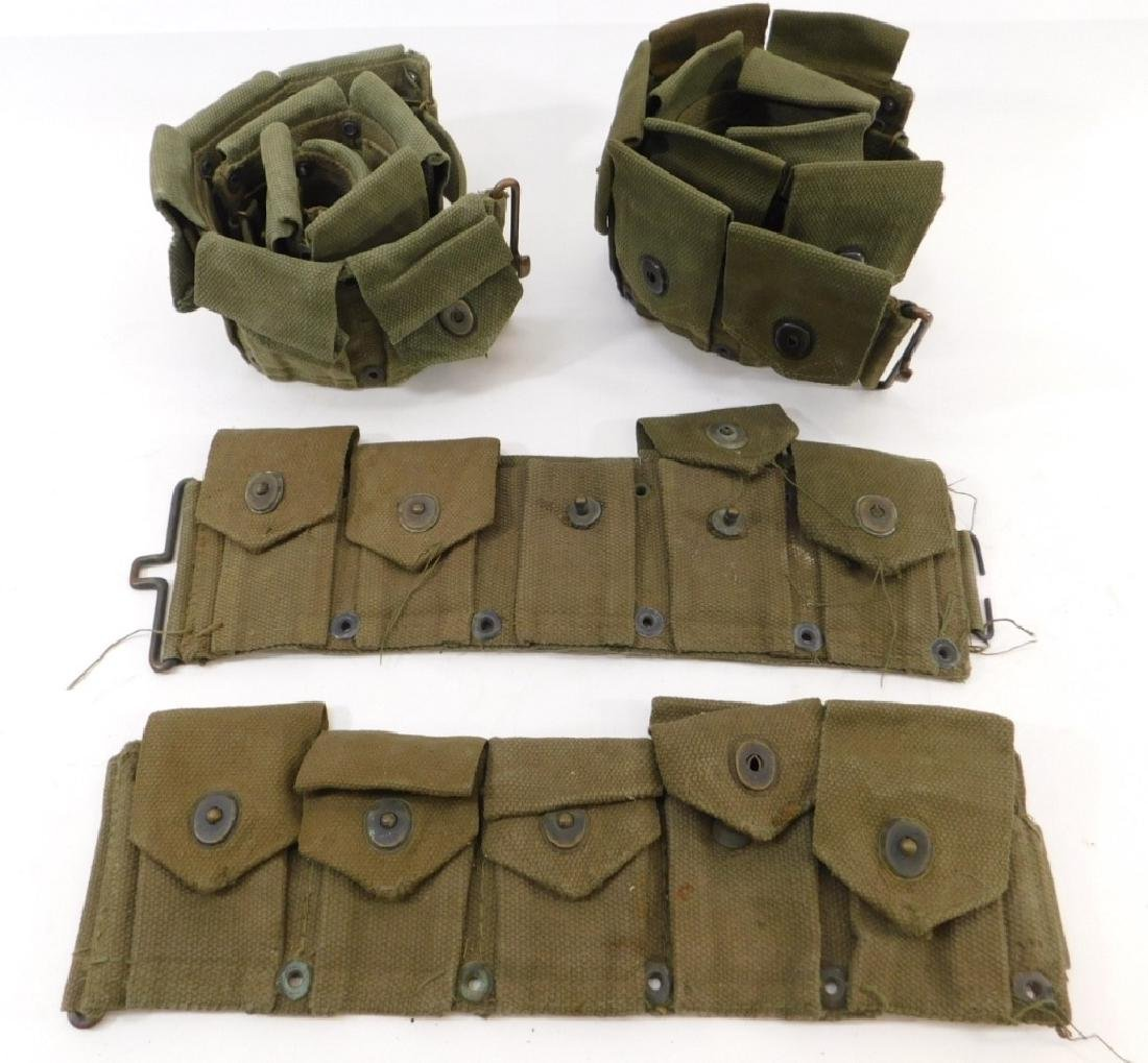 WWII U.S. Army Ammunition Belts (3)
