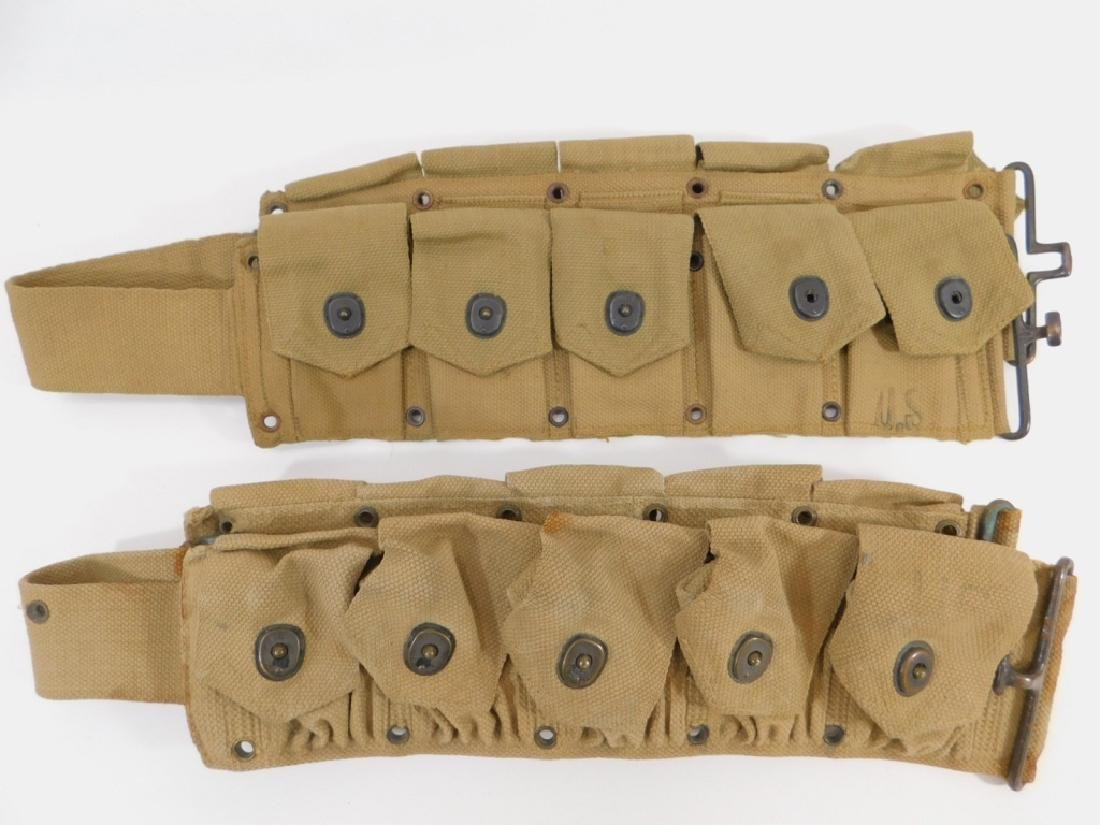 WWII British Made for U.S. Army Ammunition Belts 2