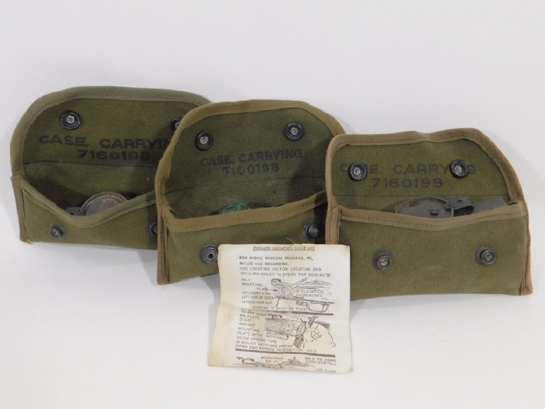 WWII U.S. Army Grenade Launcher Sights M-15 (3)