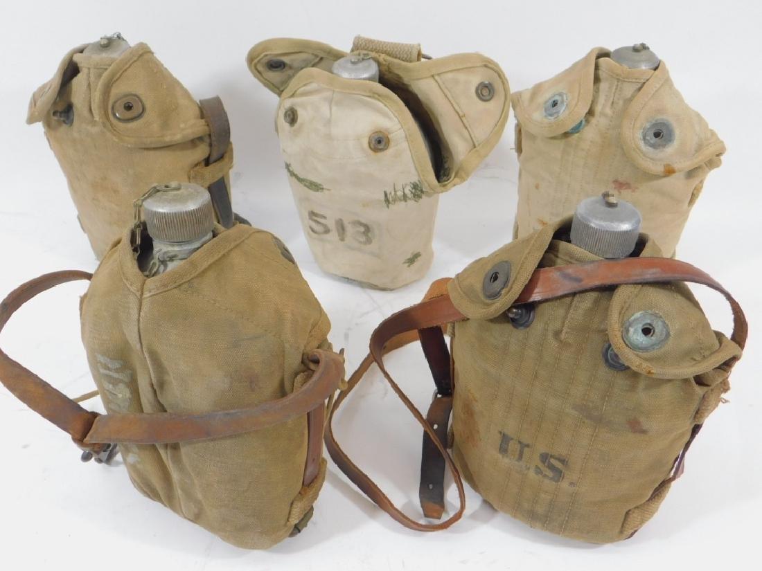WWI Cavalry & M1910 Spun Canteens (5)