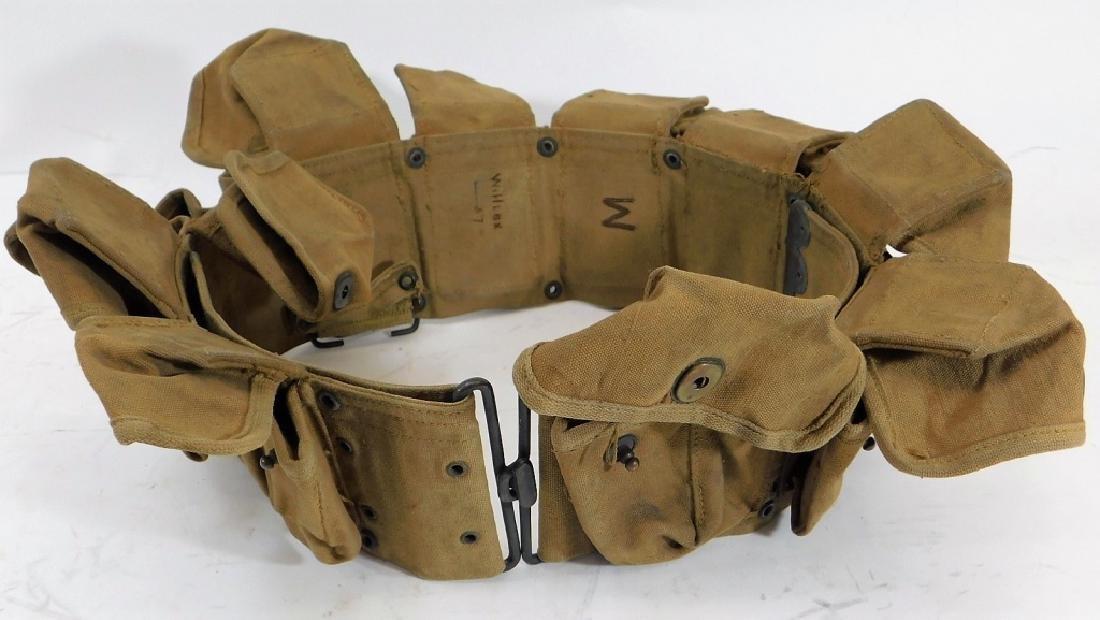 WWI U.S. Army Hand Grenade Belt