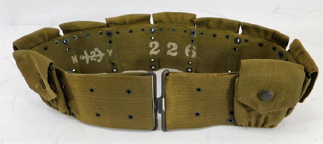 1910 Pattern Ammunition Belt with Eagle Snaps