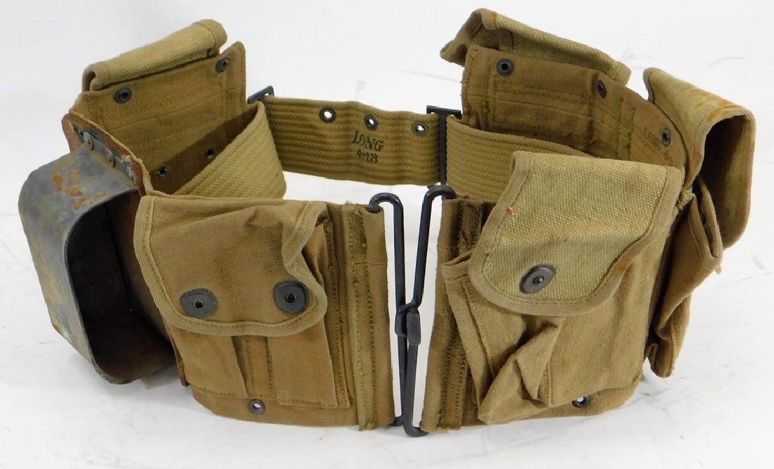 WWI U.S. Army Cavalry B.A.R. Ammunition Belt