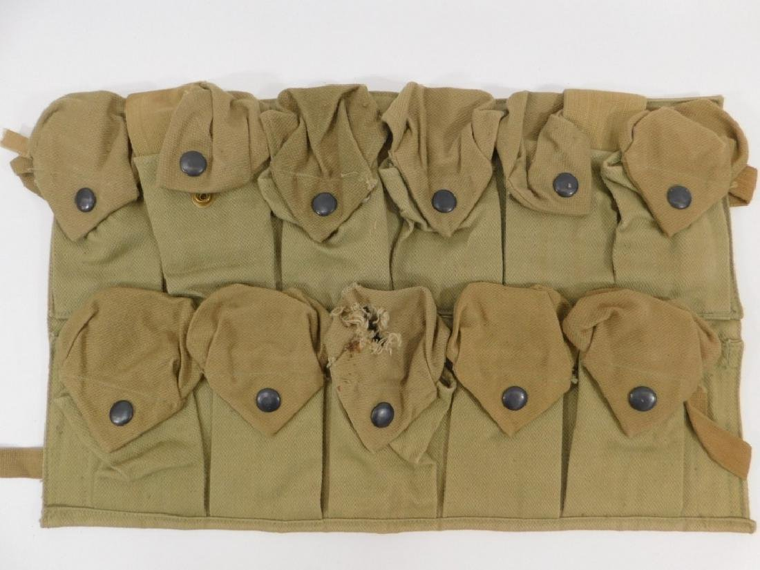 WWI U.S. Army Hand Grenade Chest Pouch (2) - 2