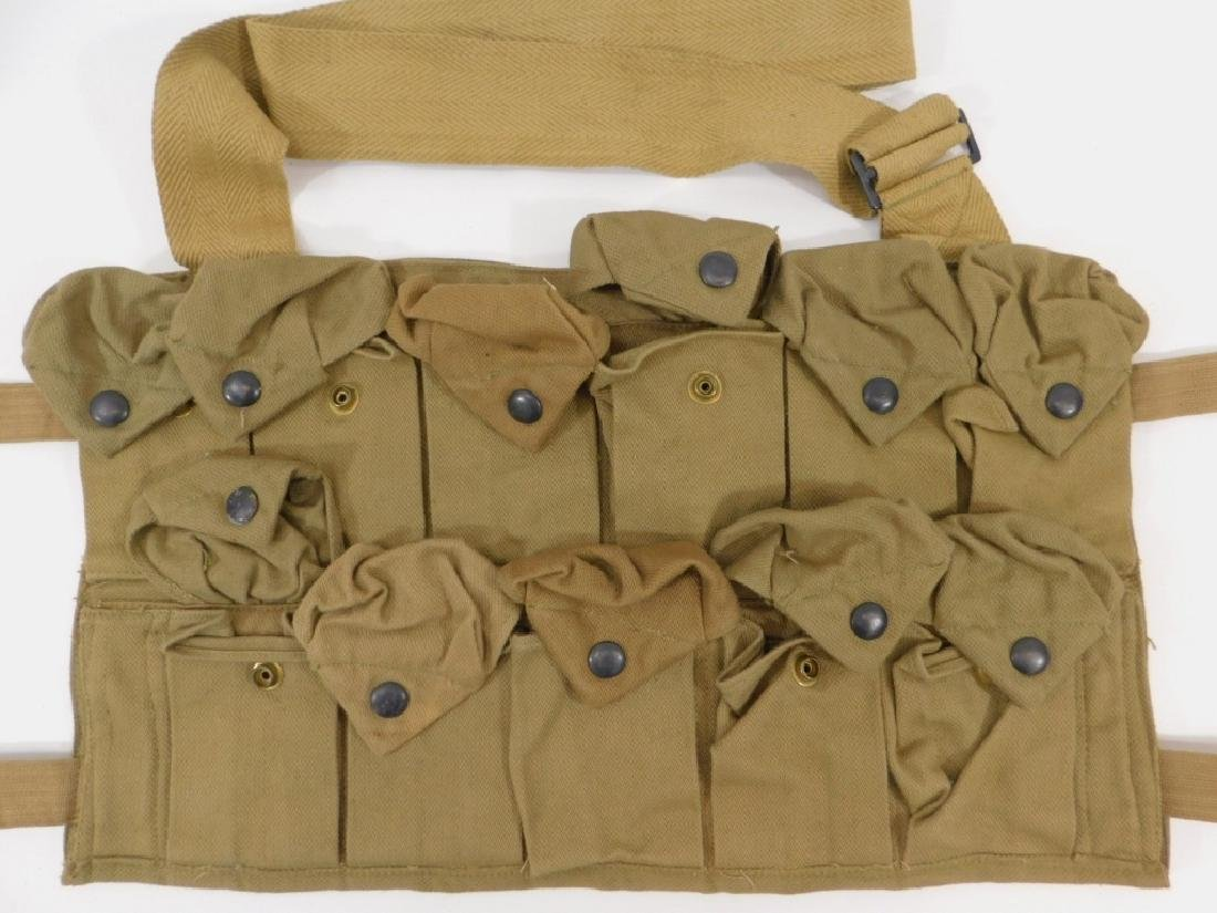 WWI U.S. Army Hand Grenade Chest Pouch (2) - 5