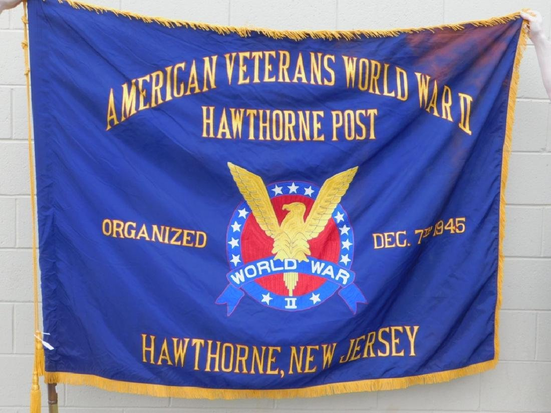 American Veterans World War II Hawthorne, NJ Flag