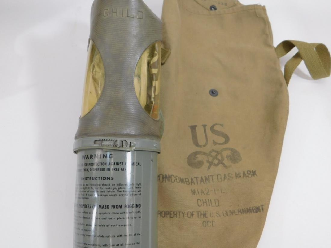 WWII Home Front Child's Gas Masks (2) - 3