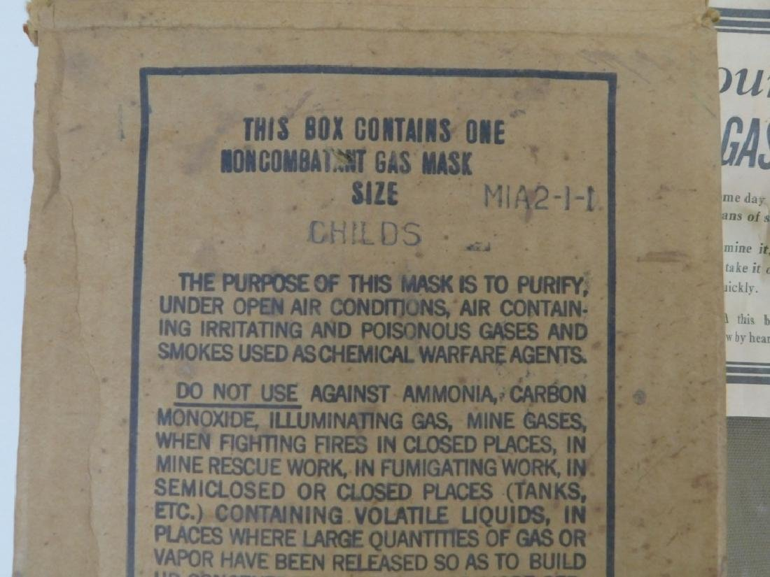 WWII Home Front Child's Gas Masks (2) - 5