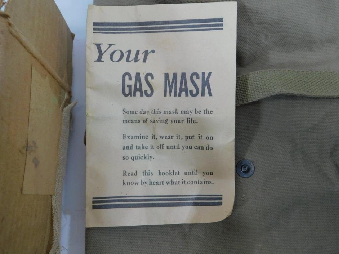 WWII Home Front Child's Gas Masks (2) - 6