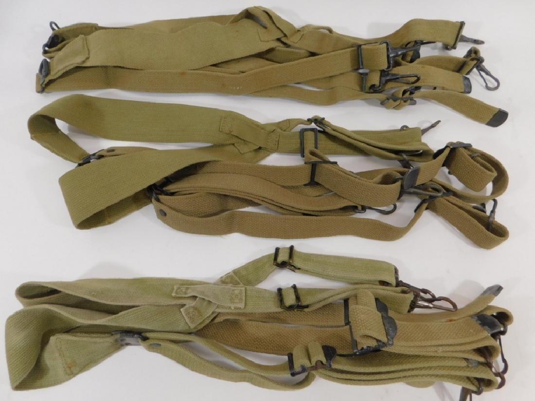 WWII U.S. Army Pistol Belt Suspenders M-1936 (3)