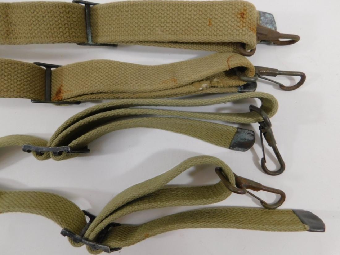WWII U.S. Army Pistol Belt Suspenders M-1936 (3) - 2
