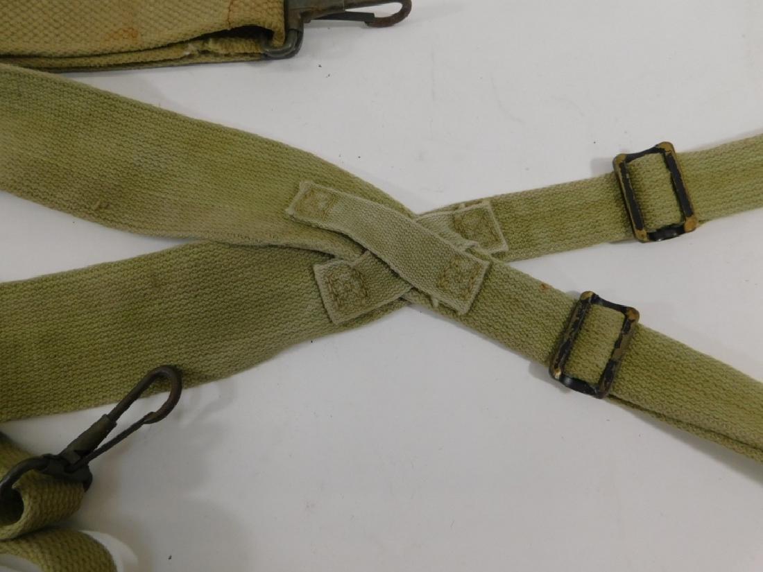WWII U.S. Army Pistol Belt Suspenders M-1936 (3) - 3