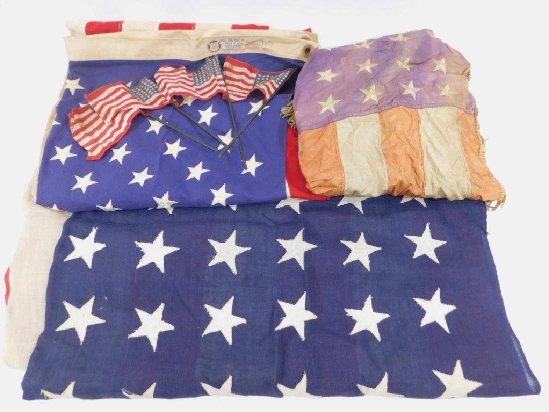 WWII - Present Day Collection of American Flags