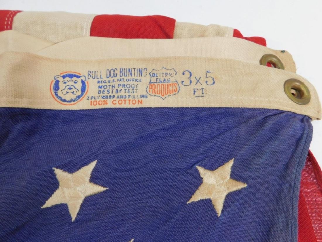 WWII - Present Day Collection of American Flags - 4