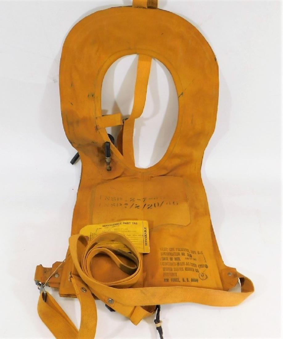 WWII U.S. Army Air Force Life Preserver 1943
