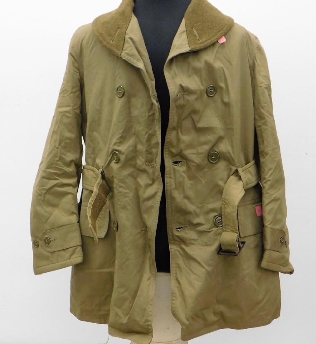"WWII U.S. Army Mackinaw ""Jeep"" Coat Never Issued"
