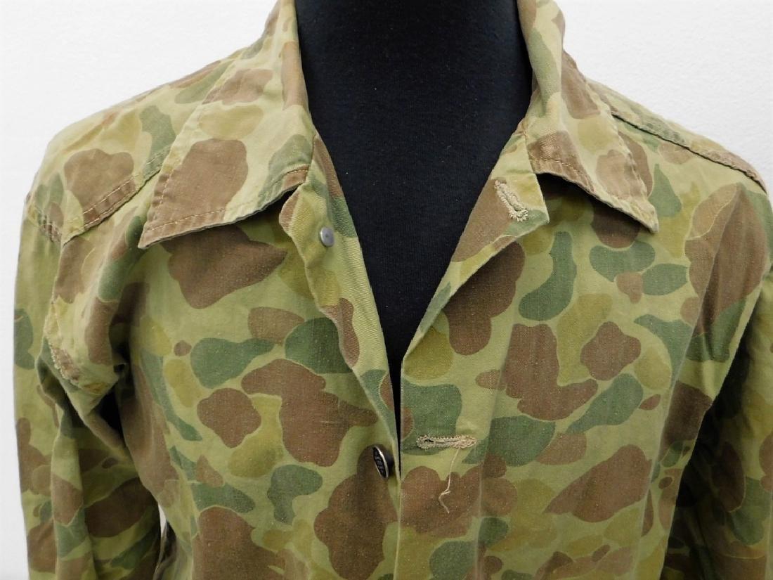 WWII U.S. Army Camouflage HBT Combat Shirt & Pants - 2