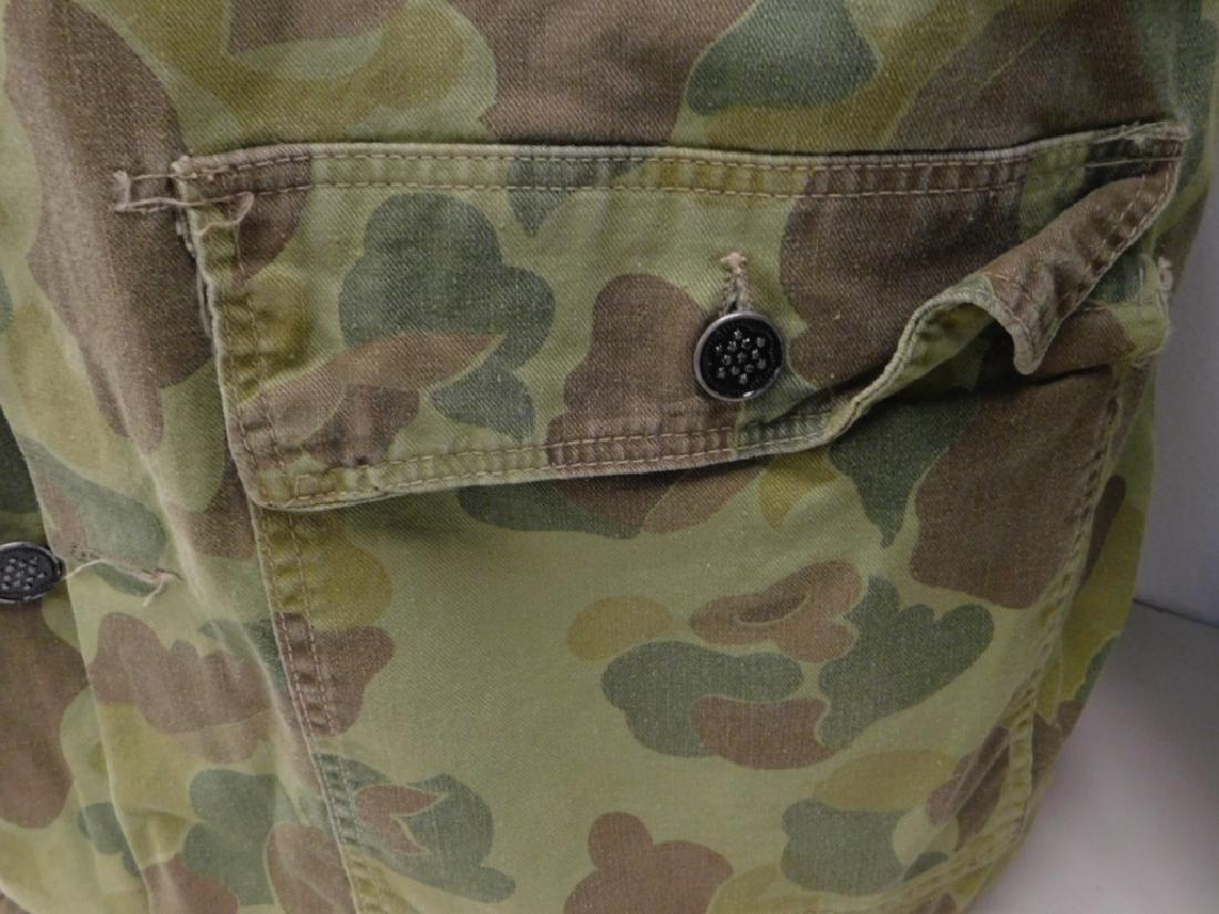 WWII U.S. Army Camouflage HBT Combat Shirt & Pants - 3
