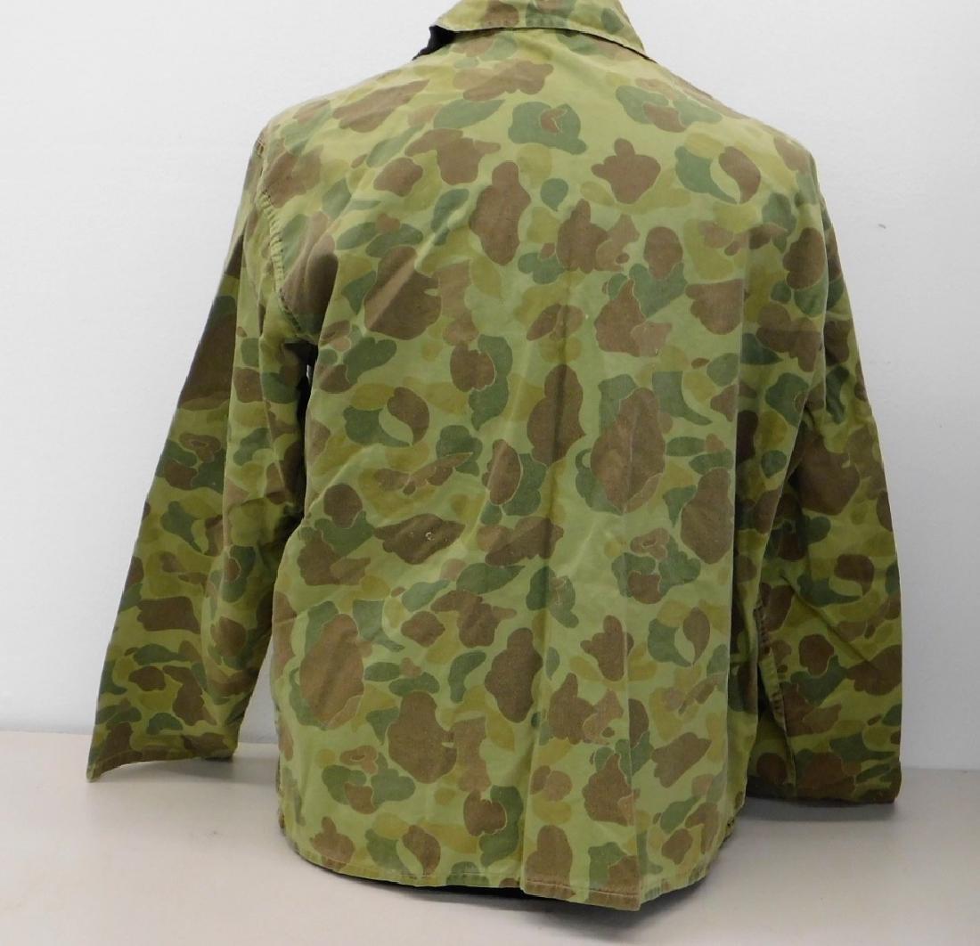 WWII U.S. Army Camouflage HBT Combat Shirt & Pants - 4