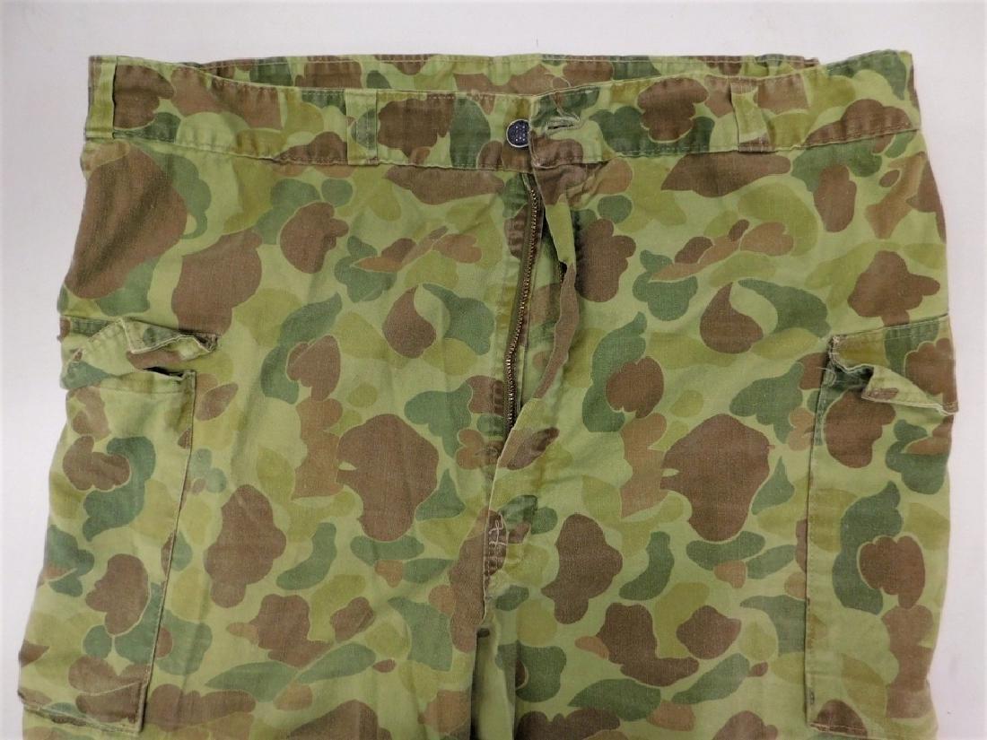 WWII U.S. Army Camouflage HBT Combat Shirt & Pants - 5