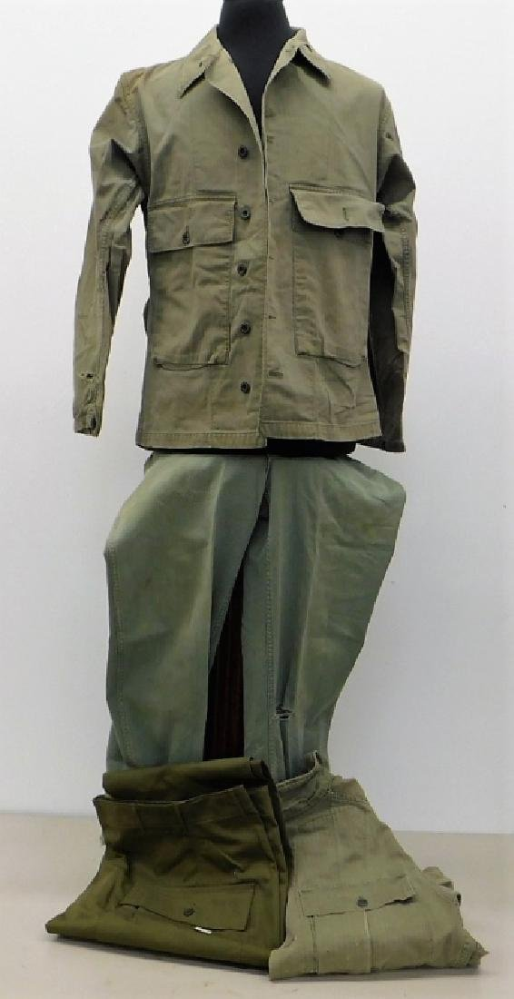 WWII U.S. Army HBT Combat Shirts and Pants