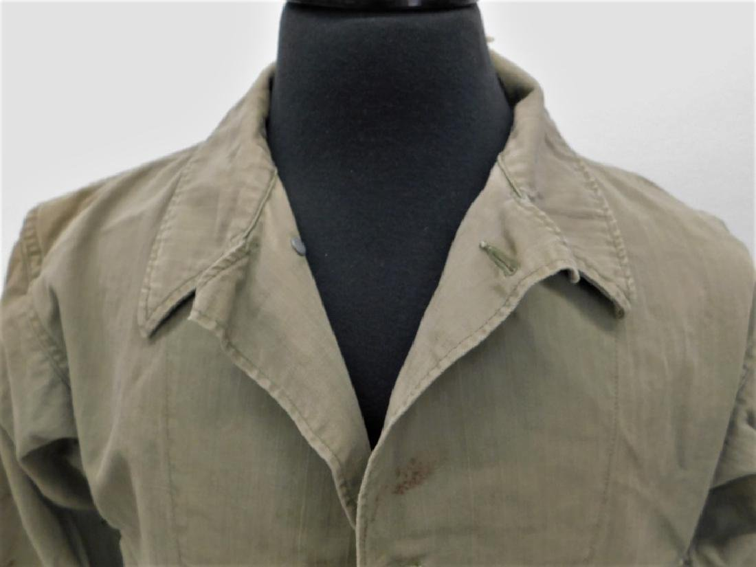 WWII U.S. Army HBT Combat Shirts and Pants - 2