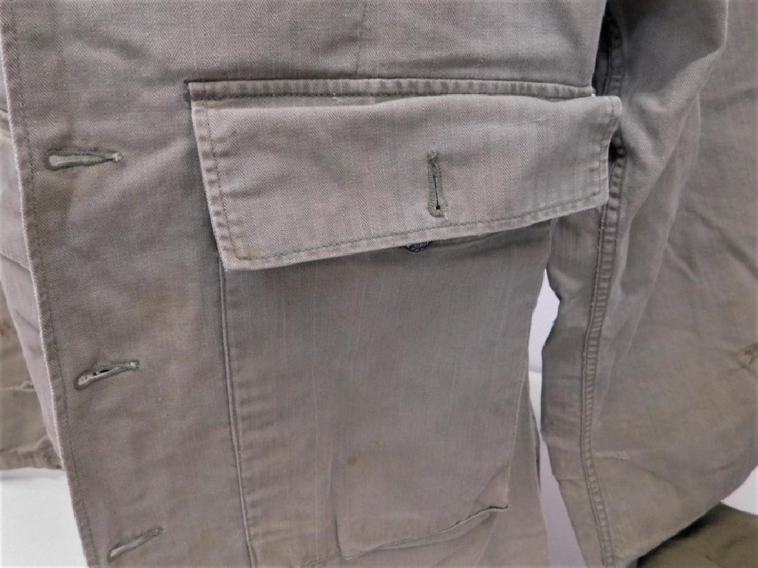 WWII U.S. Army HBT Combat Shirts and Pants - 3