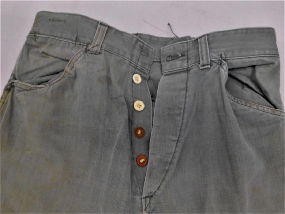 WWII U.S. Army HBT Combat Shirts and Pants - 5