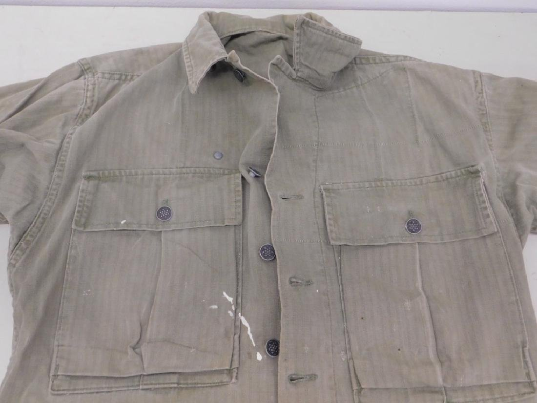 WWII U.S. Army HBT Combat Shirts and Pants - 6
