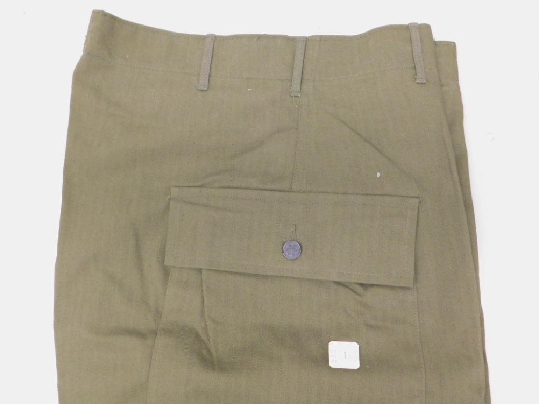 WWII U.S. Army HBT Combat Shirts and Pants - 7