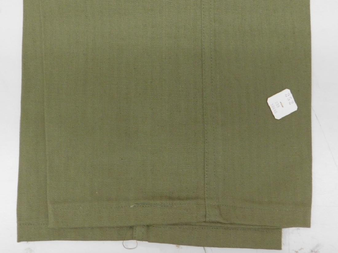 WWII U.S. Army HBT Combat Shirts and Pants - 8