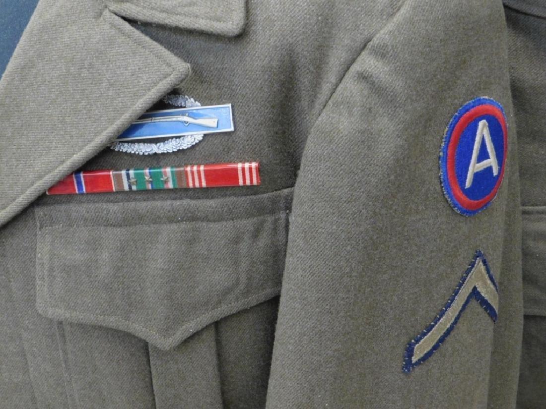 WWII U.S. Army Uniform Tunic & Ike Jacket - 2