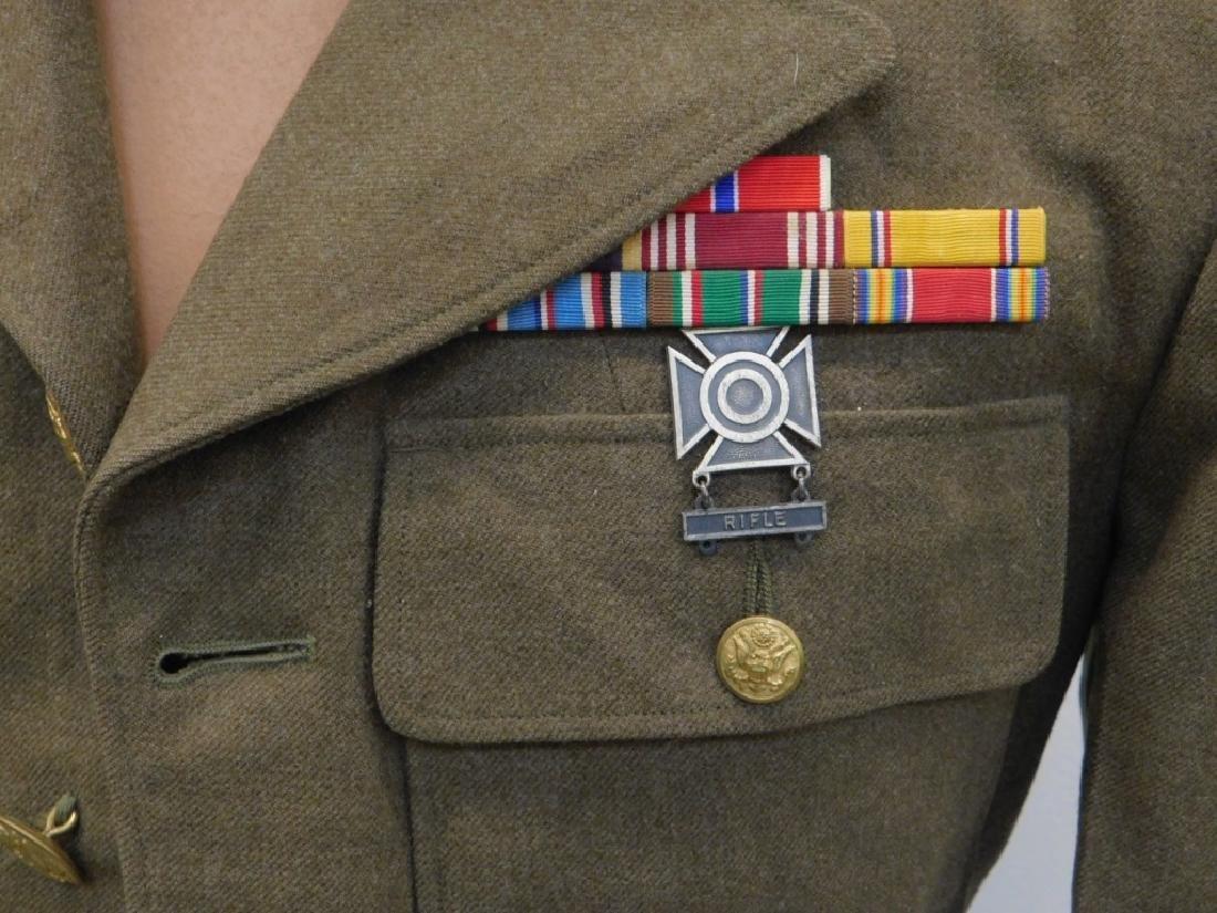 WWII U.S. Army Uniform Tunic & Ike Jacket - 5