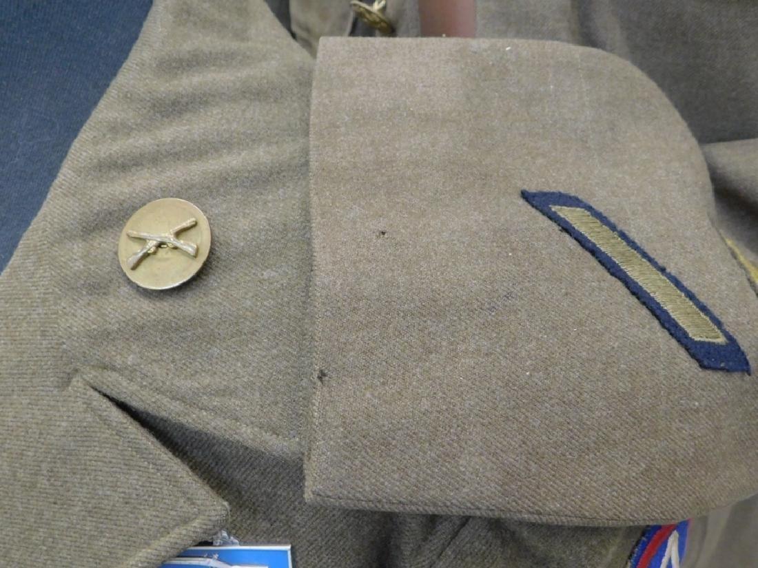 WWII U.S. Army Uniform Tunic & Ike Jacket - 6