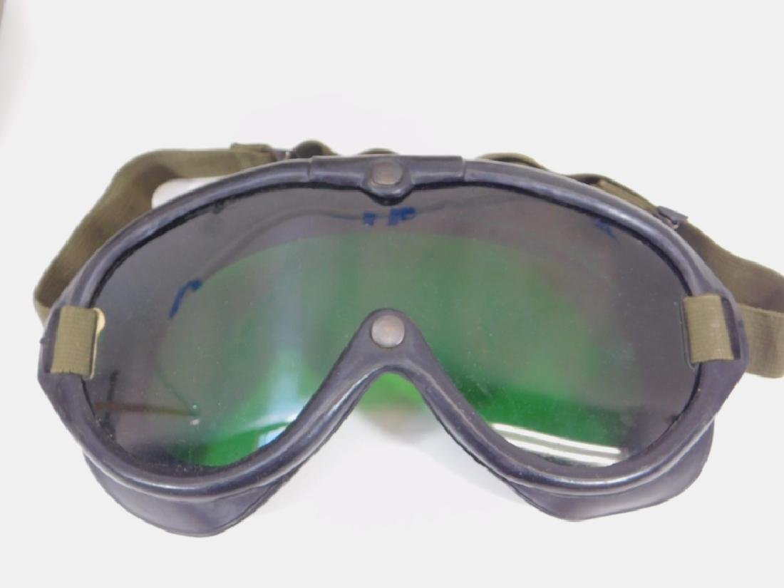 WWII US Army M1944 Goggles (4) Pair - 2