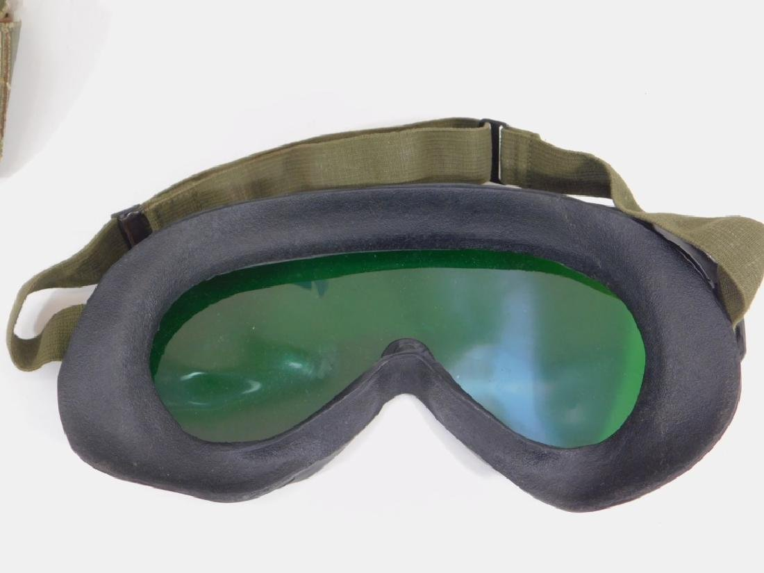 WWII US Army M1944 Goggles (4) Pair - 3