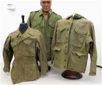 WWII US Army M43 Field Jackets 3