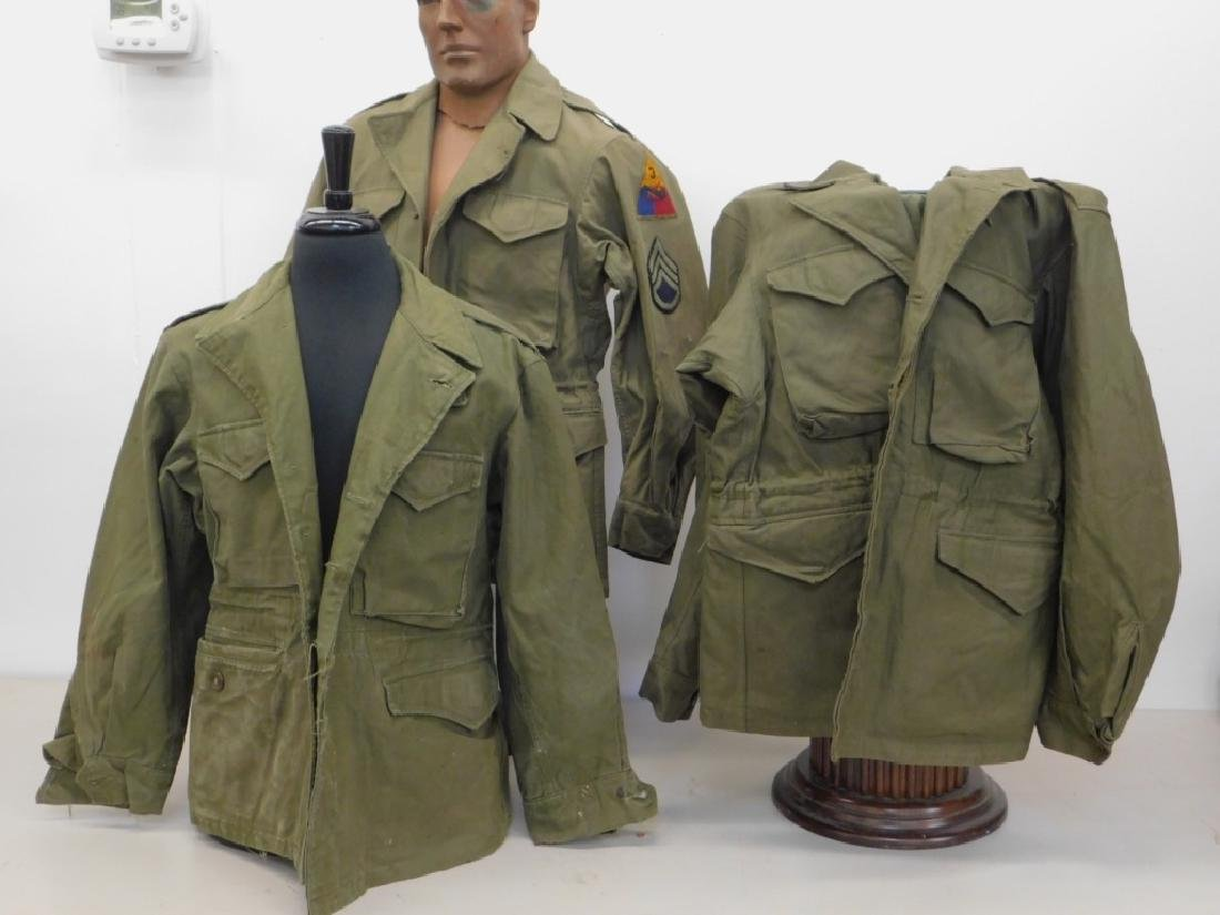 WWII U.S. Army M43 Field Jackets (3)
