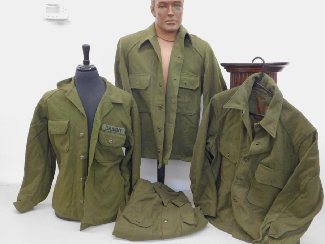 WWII - Korean War Winter Shirts (4)