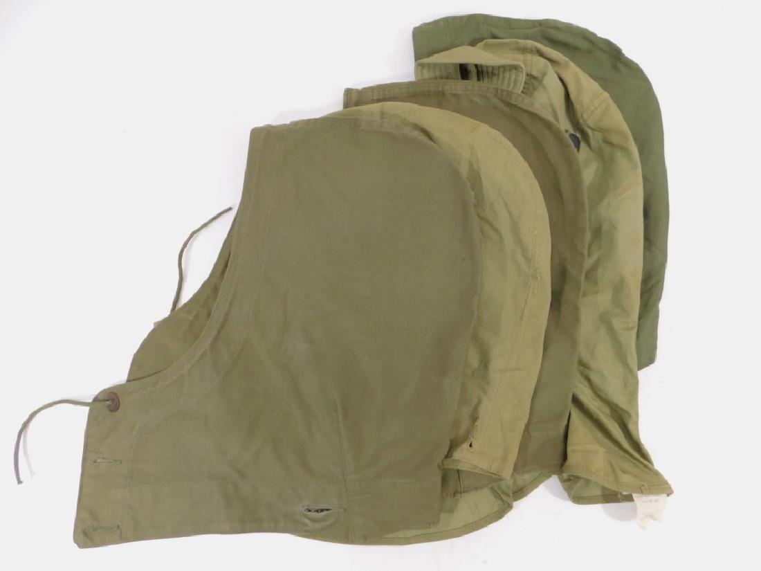 WWII U.S. Army M43 Field Jacket Hoods (5)
