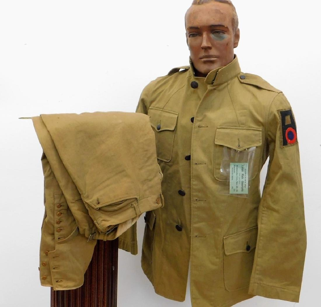 WWI U.S. Army 1st Army Air Service Uniform
