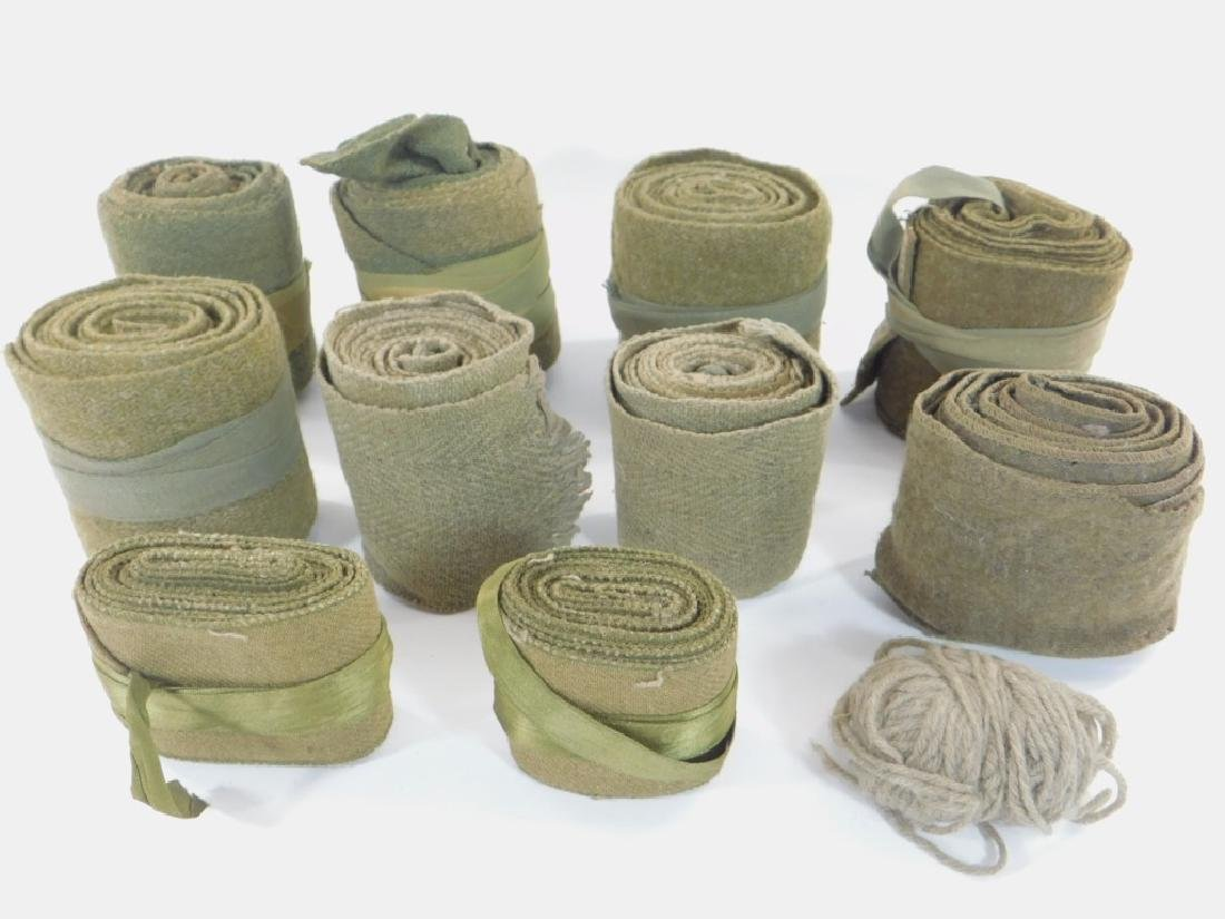 WWI U.S. Army Uniform Leg Wraps (5) Sets