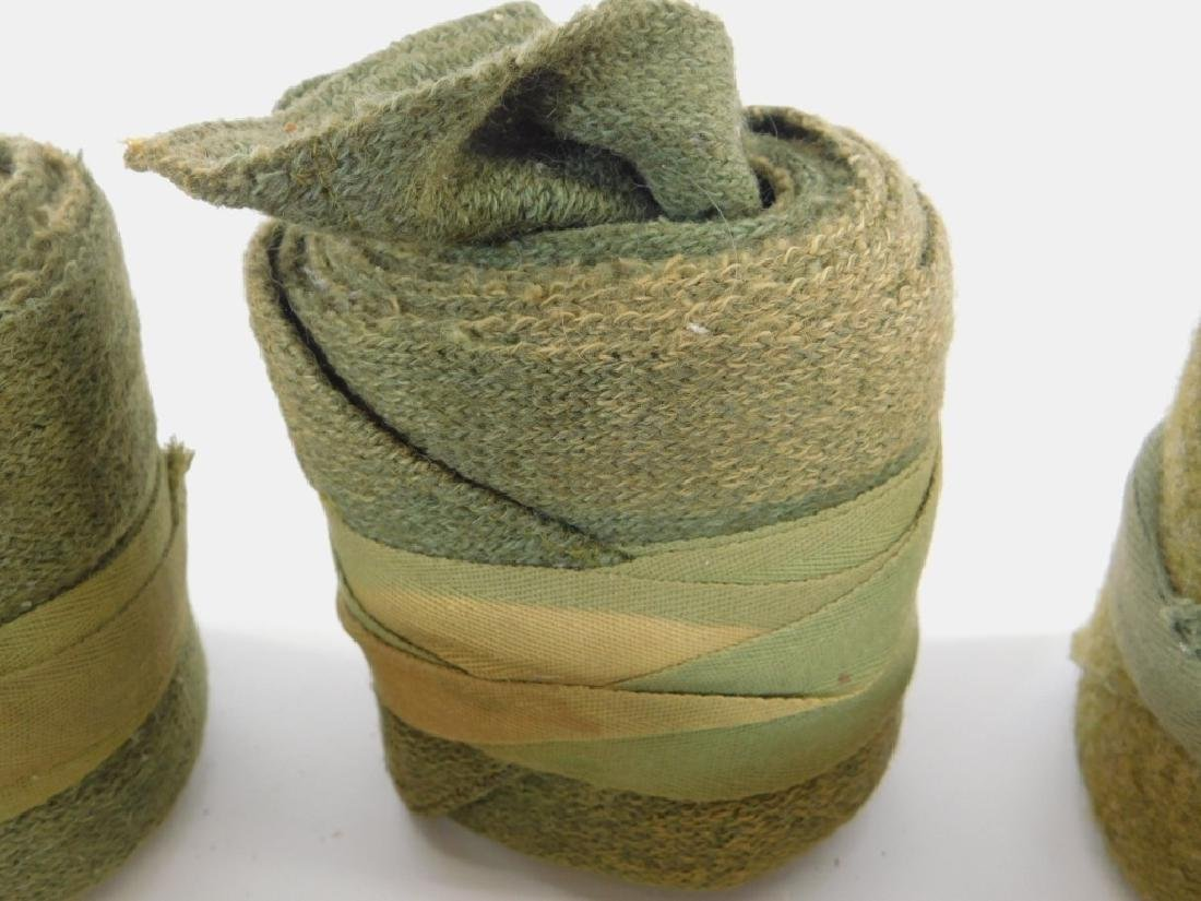 WWI U.S. Army Uniform Leg Wraps (5) Sets - 5