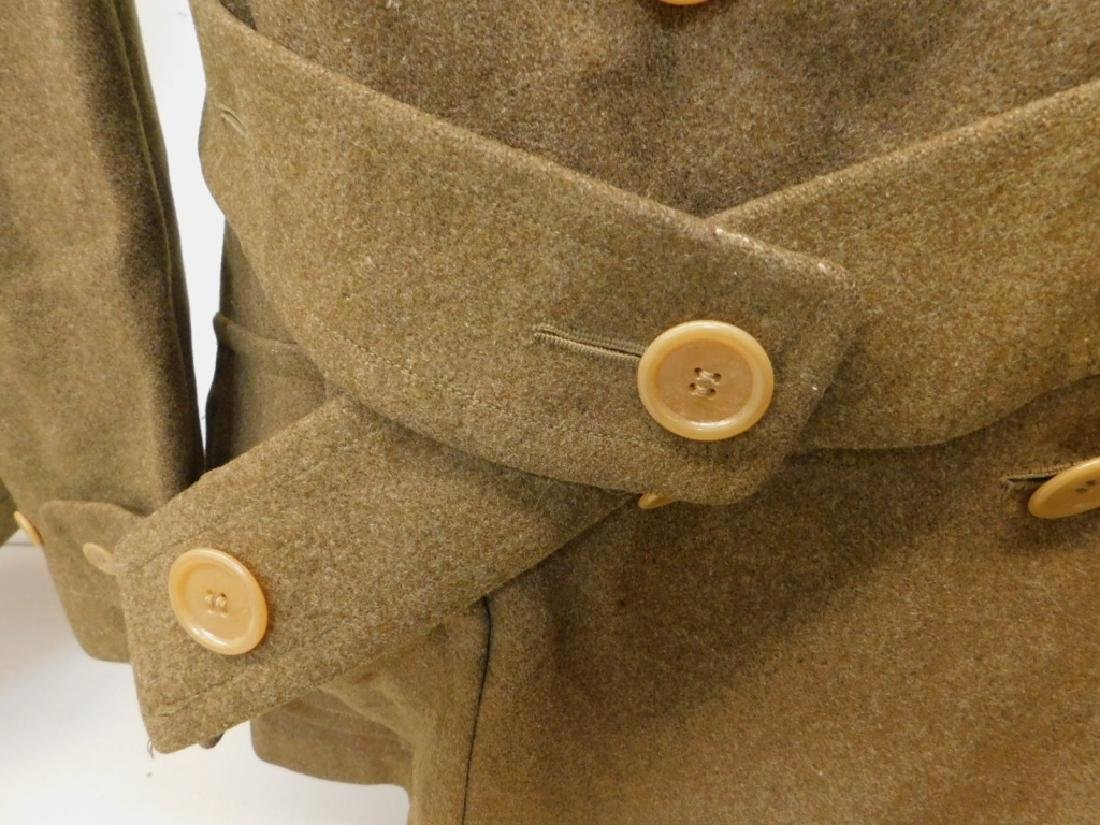 WWII U.S. Army Winter Wool Coats 1) Officers - 7