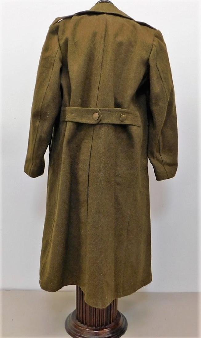 WWII U.S. Army Winter Wool Coats 1) Officers - 8
