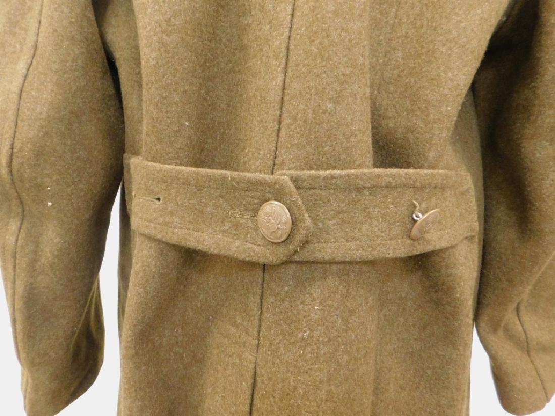 WWII U.S. Army Winter Wool Coats 1) Officers - 9