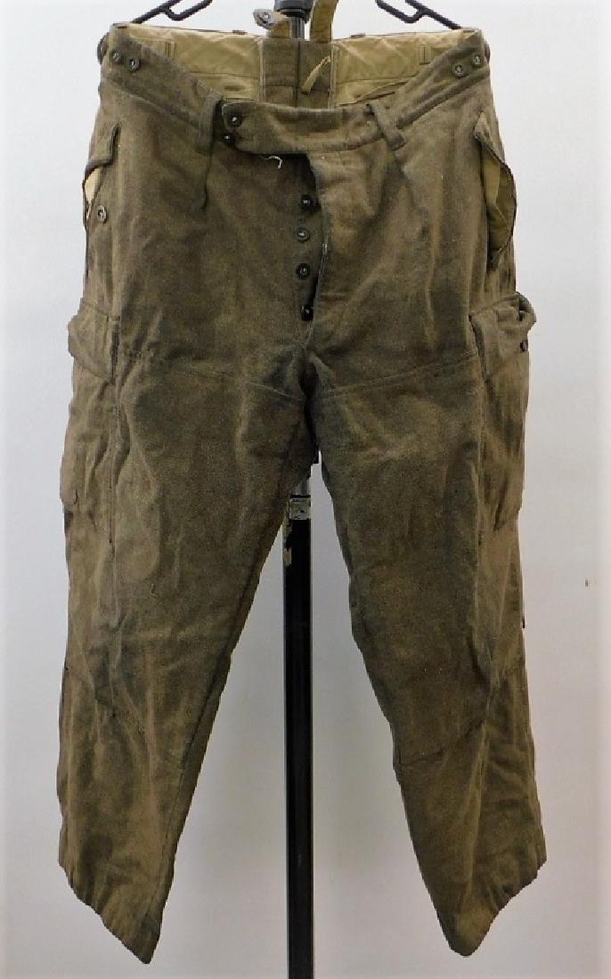 WWII German Paratrooper Fallschirmjager Jump Pants