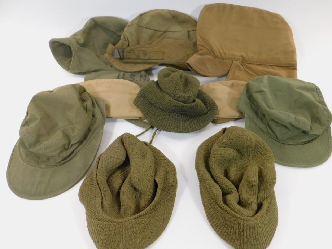 WWII U.S. Military Hats (10)