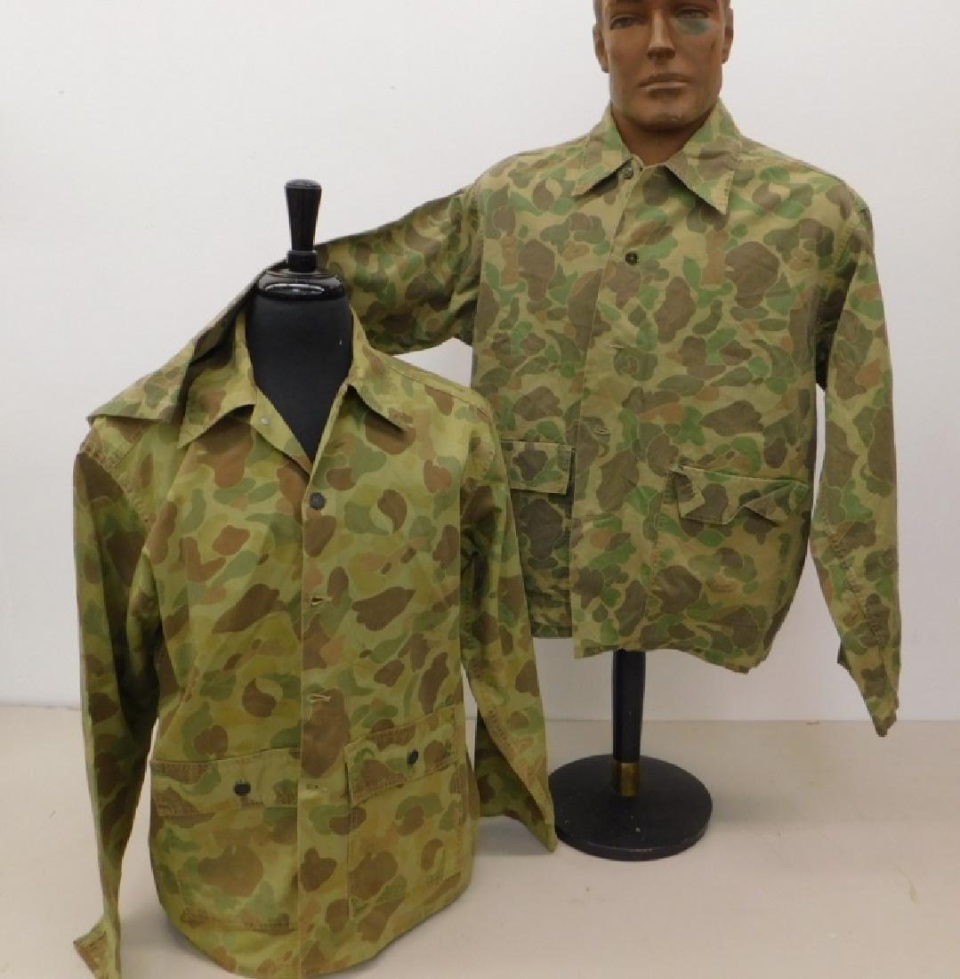 WWII U.S. Army Camouflage HBT Shirts (2)